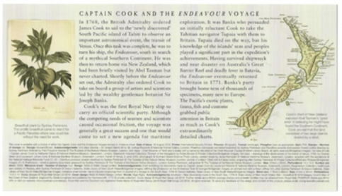 captain cook fact sheet